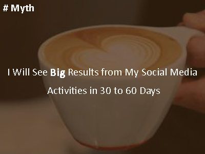 social media myth